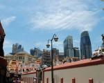 Chinatown mit Financial District im Hintergrund