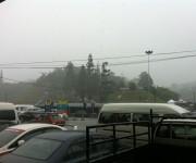 Regen bei der Ankunft in Tanah Rata