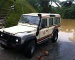 Land Rover geborgen