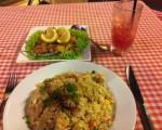 Lemon Chicken mit Fried Rice