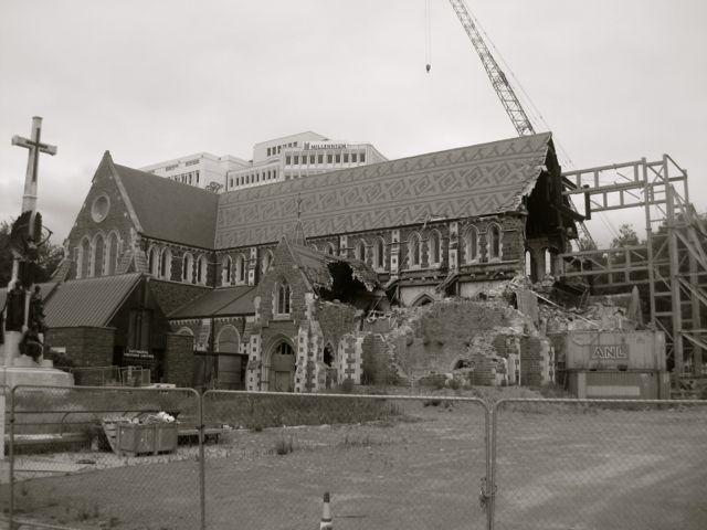 Christchurch nach dem Erdbeben