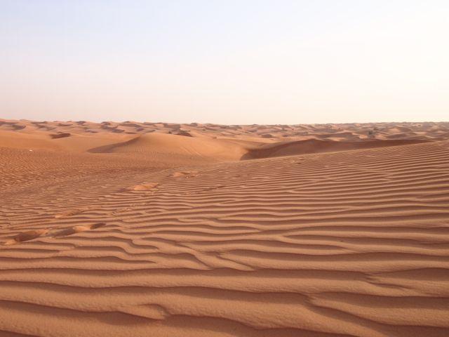 Wüstensafari in Dubai – Sanddünen