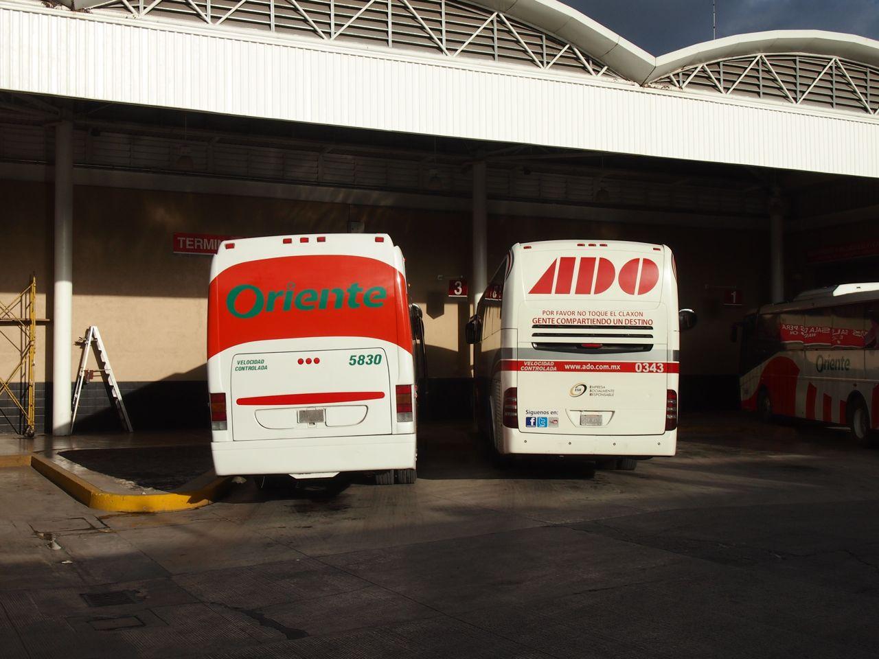 Fernbusse in Mexiko