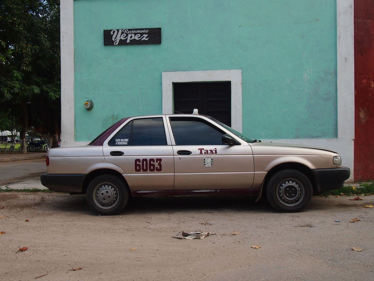 Taxi in Mexiko
