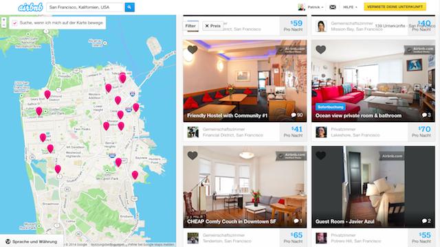 Haken mit Airbnb-Host Top-Rating Seiten Sydney
