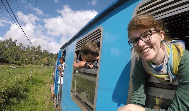 Unsere Zugfahrt nach Ella