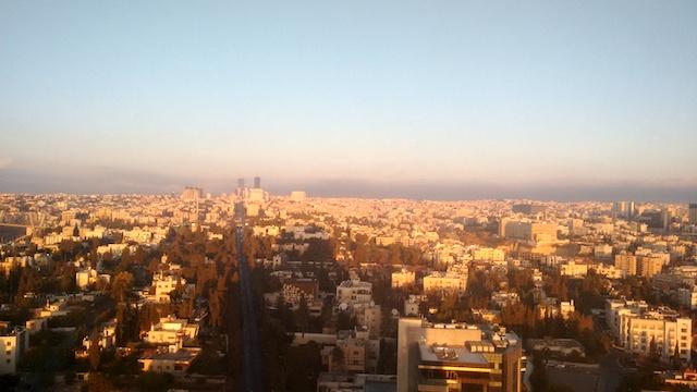 Ausblick vom Le Royal Amman