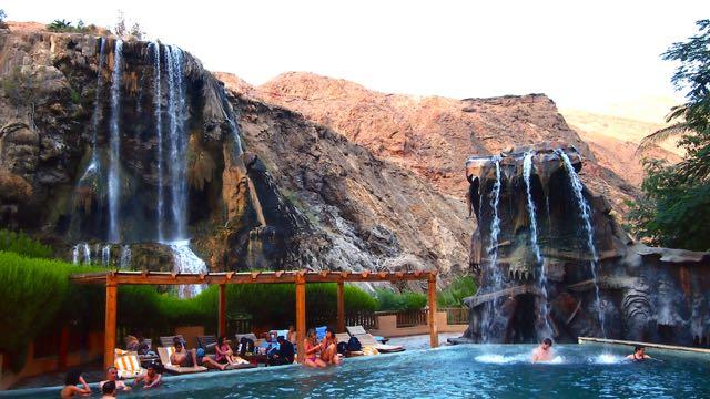 Ma'in Hot Springs Pool