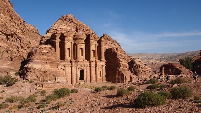 Das Kloster Ad Deir in Petra