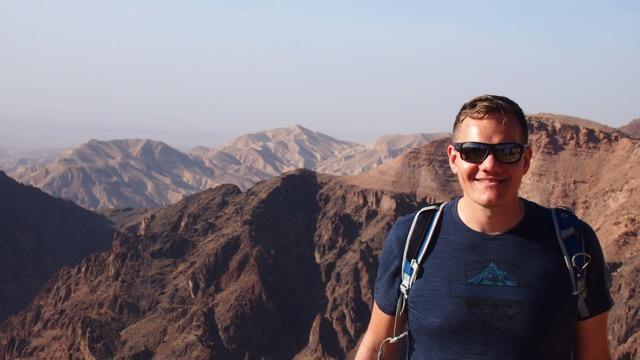 Ausblick in den Canyon bei Petra