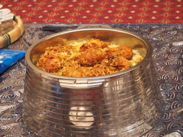SMCCU Dubai Mittagessen