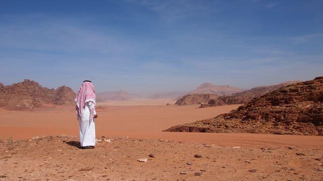 Beduine in Wadi Rum