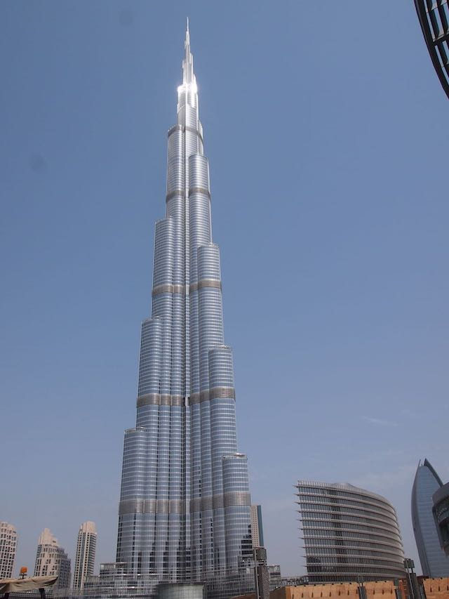 Burj Khalifa bei Tag