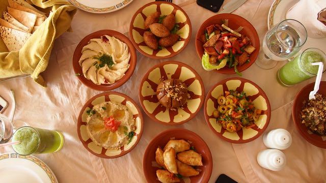 Vorspeisen in Jordanien