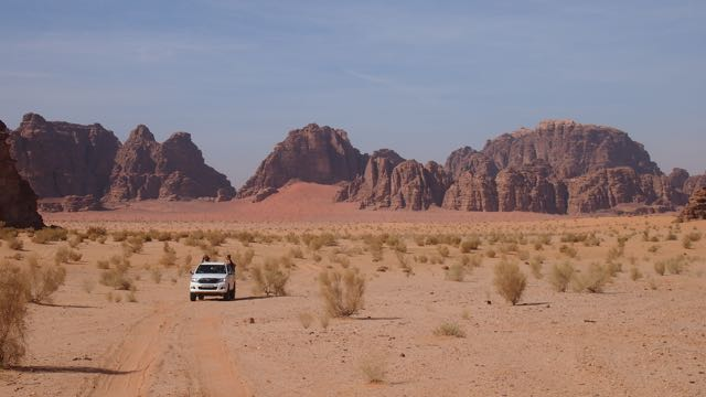 Jeep Tour in Wadi Rum