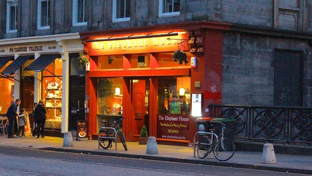 The Elephant House in Edinburgh
