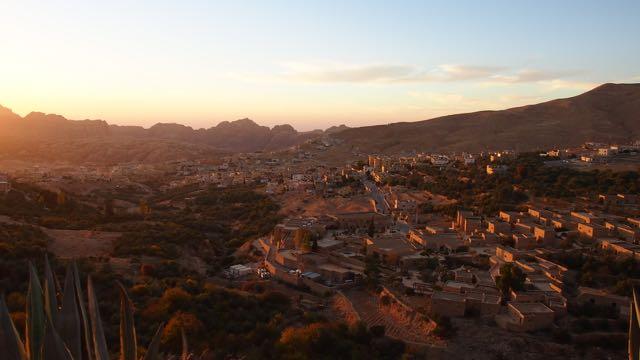 Wadi Musa Sonnenuntergang