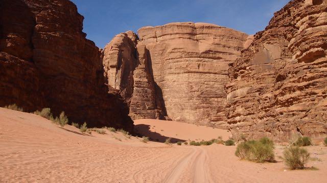 Wadi Rum Schlucht