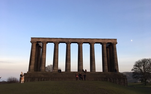 National Monument auf Calton Hill