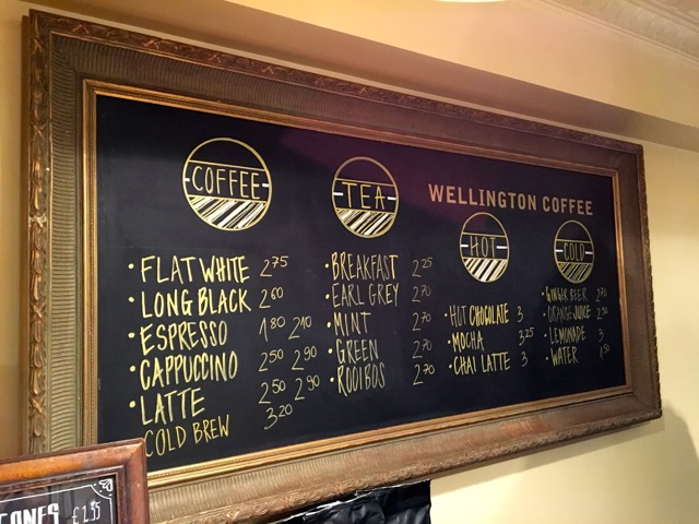 Wellington Coffee in Edinburgh