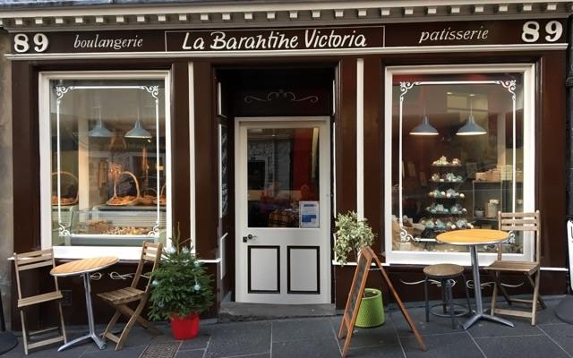 Café La Barantine Victoria in Edinburgh
