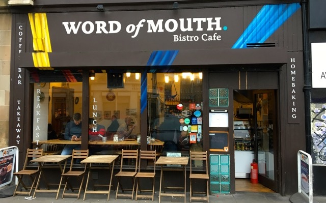 Word of Mouth Café in Edinburgh