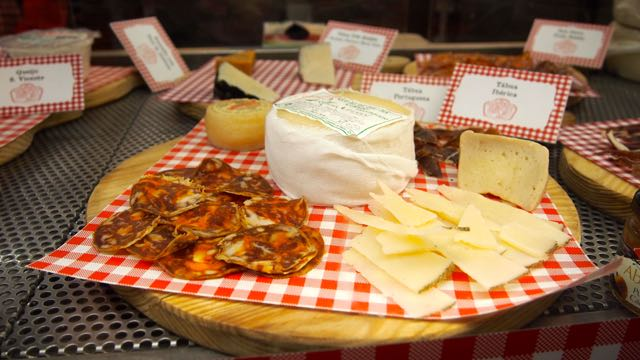 Käse und Wurst
