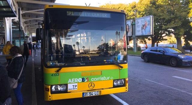 Aerobus Lissabon
