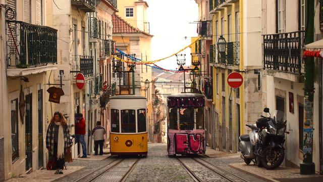Ascensores in Lissabon