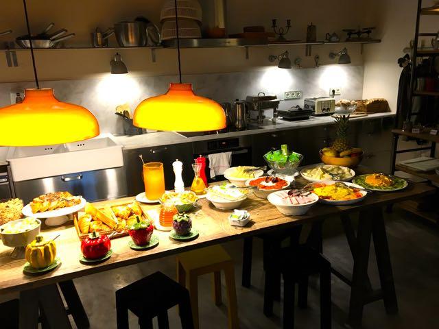 A Casa das Janelas com Vista - Frühstück