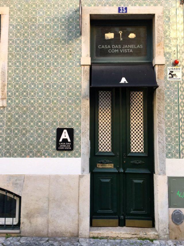 A Casa das Janelas com Vista - Eingang