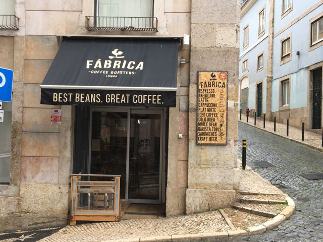 Fabrica Coffee Roasters in Lissabon