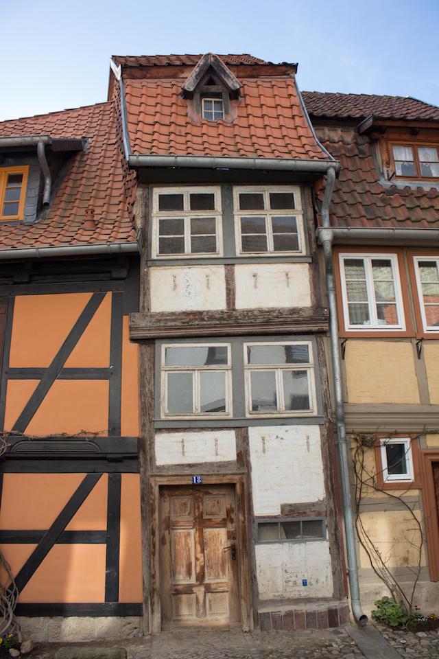 Fachwerkhaus in Quedlinburg