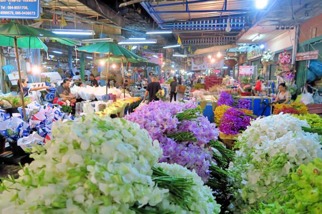 Blumenmarkt Bangkok