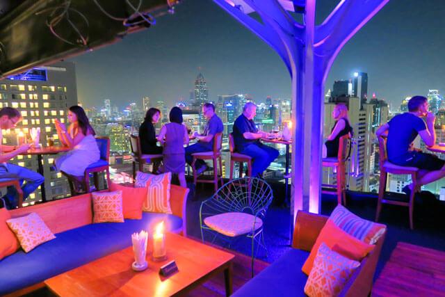 Skybar Above 11, Bangkok