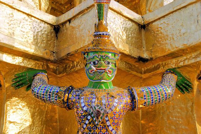 Wat Phra Kaeo / Königspalast, Bangkok