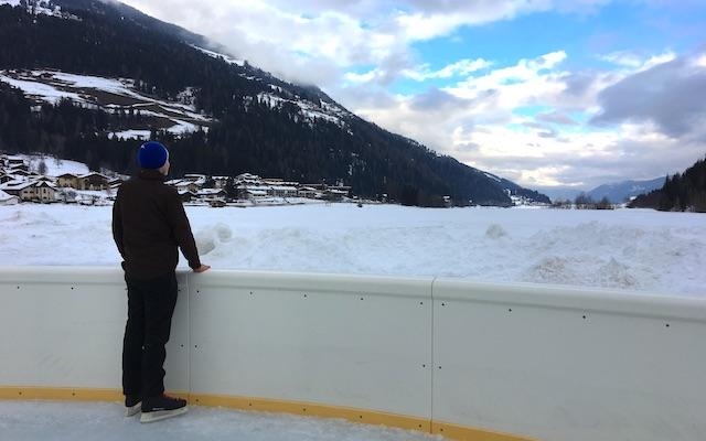Eislaufen im Ultental