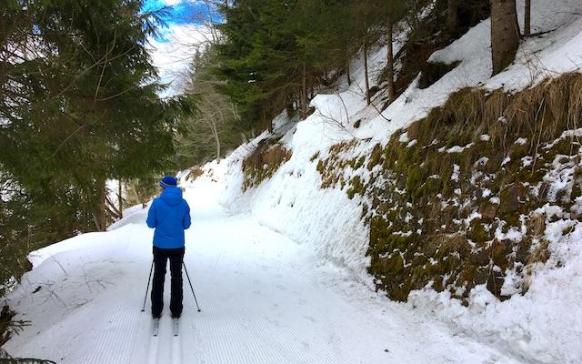 Ski-Langlauf im Ultental