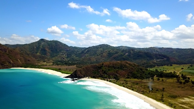 Lombok Indonesien Selong Belanak Beach