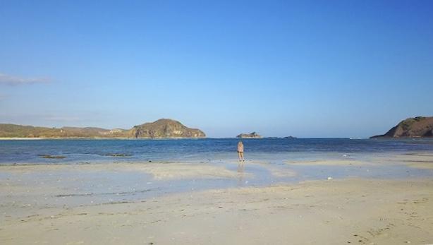 Tanjung Aan Beach, Kuta