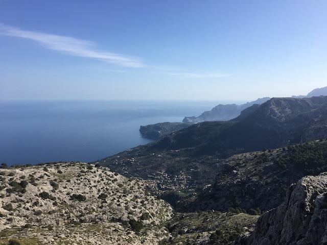 Blick auf Deia, Mallorca