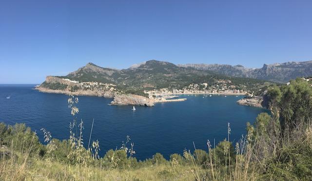 Die Bucht von Port d'Sóller
