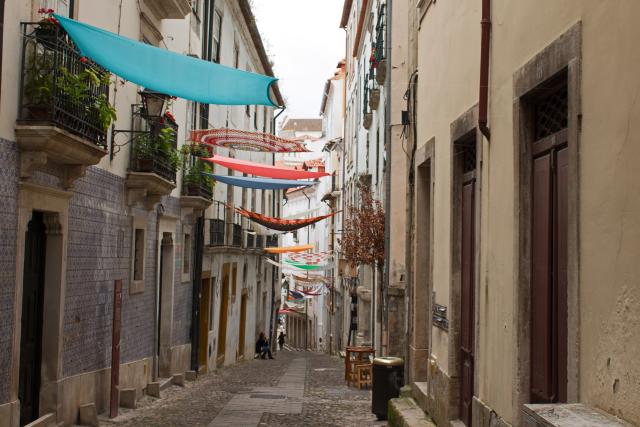 Gasse in Coimbra
