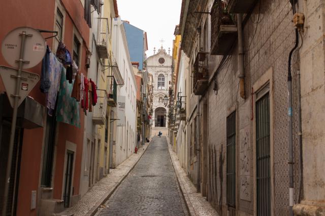 Enge Gasse Lissabon